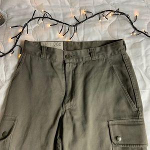 Pants - High waisted camo joggers